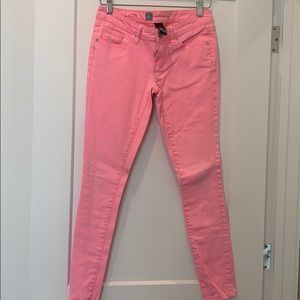 Hot Pink Skinny Jeans